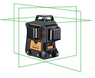 Geo6X SP GREEN KIT -  3 x 360° line 3D green laser level kit. cnt. 660.00 €
