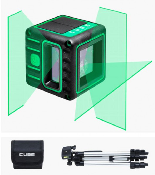 PROMOTION! Line laser ADA CUBE 3D GREEN Professional Edition Kit. CALIBRATED!. cnt. 168.00 €