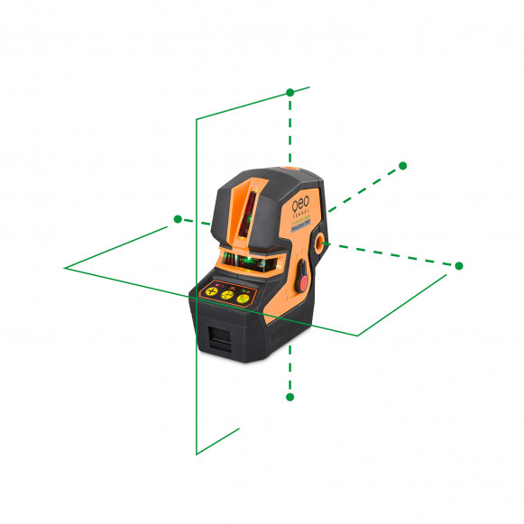 Point/line green laser level CrossPointer5 GREEN SP. CALIBRATED!. cnt. 365.00 €